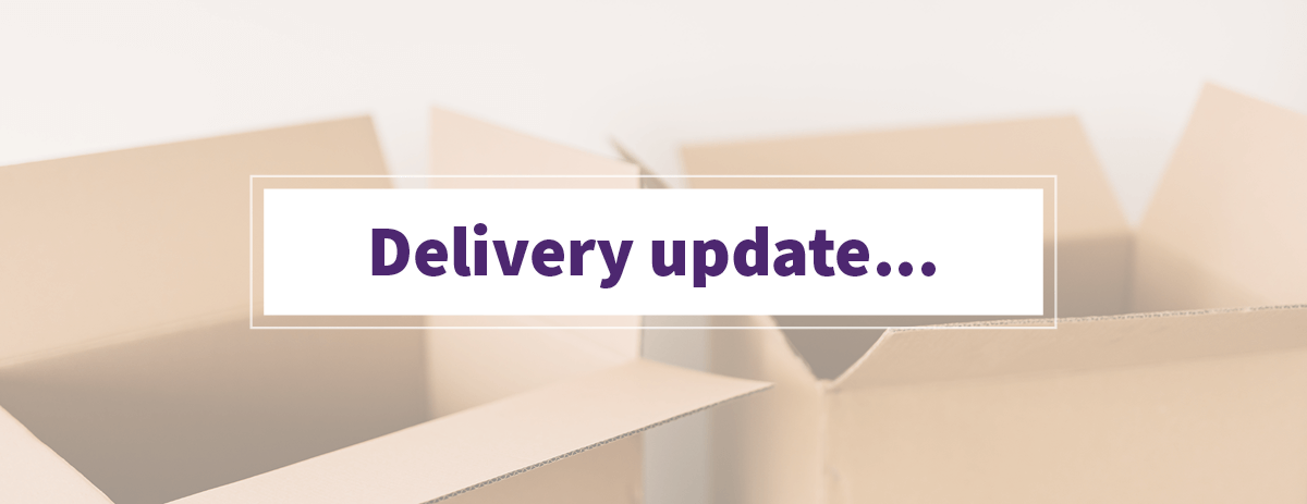 Courier Update on EU Deliveries