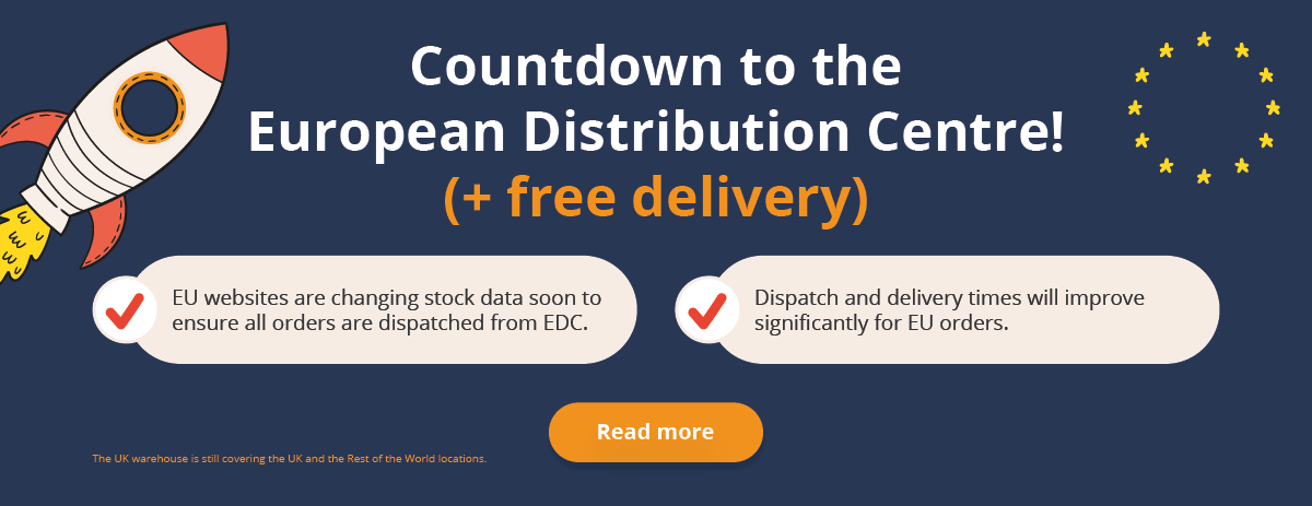 EDC Update - Countdown to the EDC & Free Delivery